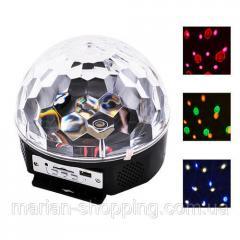 Светодиодный диско шар светомузыка Magic Ball Led