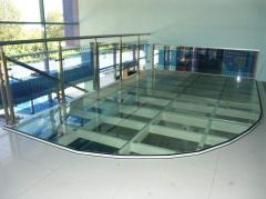 Steps, floors glass | Sokolglass