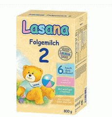 Сухая детская молочная смесь Лазана 2 (Lasana