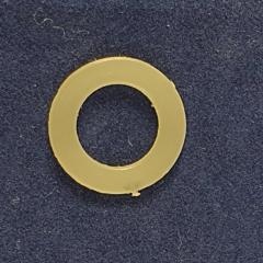Пластиковое кольцо для Блочки - Люверса №4 (5000шт.) 6мм (СТРОНГ-0134)