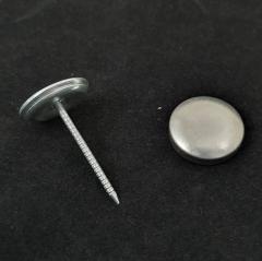 Пуговица под обтяжку на гвоздике №28 Н30 - 16,5 мм Presmak (СТРОНГ-0303)