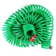 Шланг для полива спиральный 30 м с конекторами