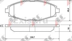 Тормозные колодки Daewoo Lanos ABS (передние)