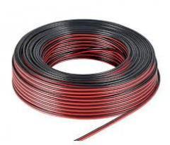 Акустический кабель CCA 2x0,75 мм Чёрно-красный