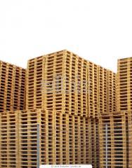 Паллеты, поддоны грузовые деревянные
