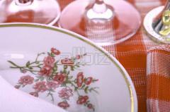 Посуда столовая фарфоровая