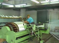Synthetic filter fabrics from polyester complex