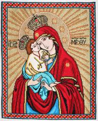 Gifts and souvenirs: the embroidered icons,