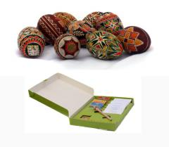Set for production a pisanok - painted Easter eggs
