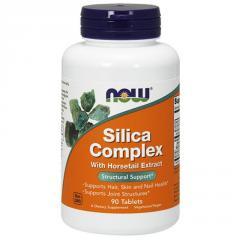 Силика комплекс Now Foods Silica Complex (90 таб)