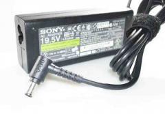 Блок питания Sony VGP-AC19V38 19.5V 3.9A 76W 6.0/4.4 с иглой Оригинал