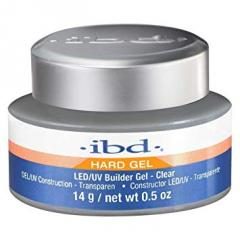 LED/UV Гель IBD Builder Gel Clear 14g, ...