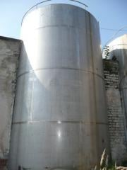 Thermos corrosion-proof 25m.kub. vertical