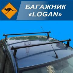 """Багажник """"RENAULT LOGAN"""" поперечены"""
