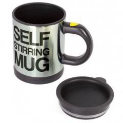 Чашка - мешалка с вентилятором для размешивания