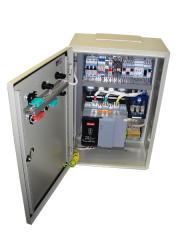 Cabinet of management of pumping installation with
