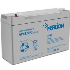 Акумулятор MERLION AGM GP612F2 6 V 12Ah