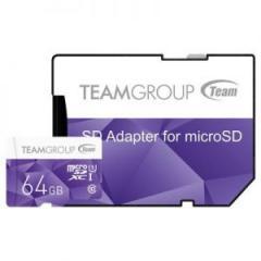 Карта пам'яті Team 64Gb microSDXC class 10