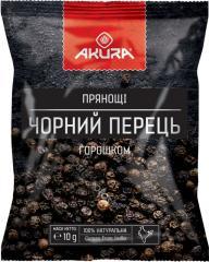 """Перец черный (горошек) ТМ """"AKURA"""",  15г"""