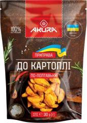 """Приправа """"Для блюд из картофеля"""" ТМ """"AKURA"""""""