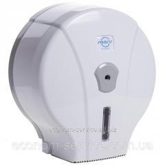 Диспенсер для туалетной бумаги Джамбо белый