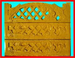 Заборы и ограды бетонные от производителя