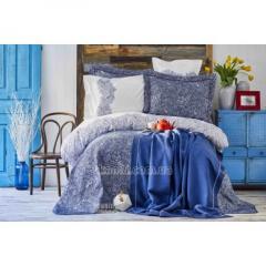Ткань Набор постельное белье с покрывалом + плед