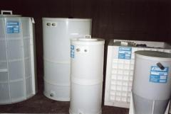 Water storage and foodstuff. Tanks are made of