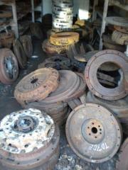 Restored baskets of coupling on trucks!!!