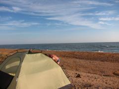Autotent, trailer tent, trailer dacha