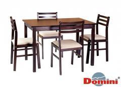Комплект Пилар венге (стол+4стула)