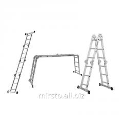 Лестница многоцелевая 4×3 (алюминиевая) FLORA