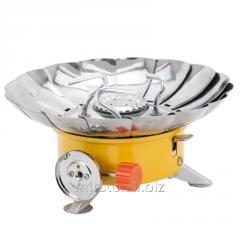 Плита газовая с пьезоподжигом и защитой от ветра