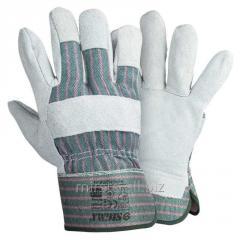 Перчатки комбинированные замшевые р10.5, класс АВ