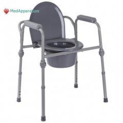 Стул-туалет стандартный металлический (высота: