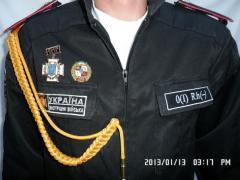The aiguilette is authorized soldier's, cadet