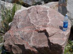 Камень гранитный красный ландшафтный с доставкой