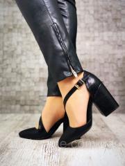 Классические женские туфли Margarite на каблуке,