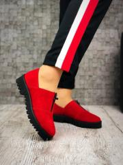 40 размер! Туфли женские на низком ходу Zan@ti