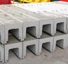 Drainage trays of LV-2