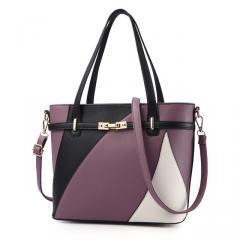 Контрастная женская сумка через плечо, новинка