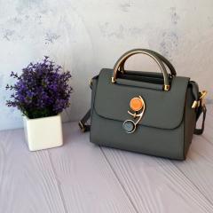 Женская сумочка через плечо с откидным...