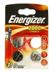 Литиевая батарейка Energizer 2032 Lithium 3v