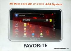 "FAVORITE 7 tablet"" F7-GPS-3G"