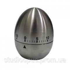 Таймер яйцо металлический с механическим заводом