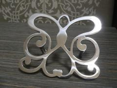 Art products from sheet metal. Letters metal