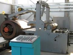 Агрегат продольной резки АПР, резка металла
