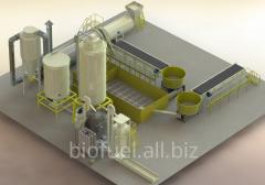 Линия по производству гранул Линия гранулирования 4000-5500 кг/ч 2.5-5 т.ч. / до - 65% (2)