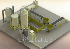 Produkcja pelletu linia 4000-5000 kg/h do 65%