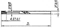 Кольца защитные для гидрораспределителей, к